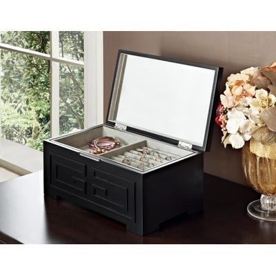 Enna Black Jewelry Box in Black - Powell 126-J117