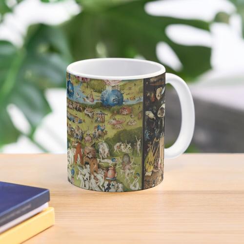Der Garten der irdischen Freuden von Bosch Tasse