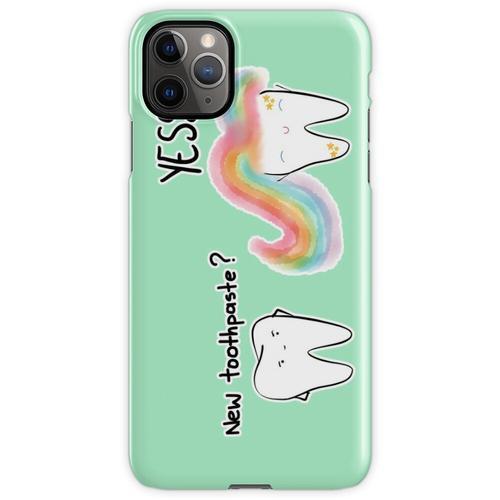 Einhorn Zahnpasta 2 iPhone 11 Pro Max Handyhülle