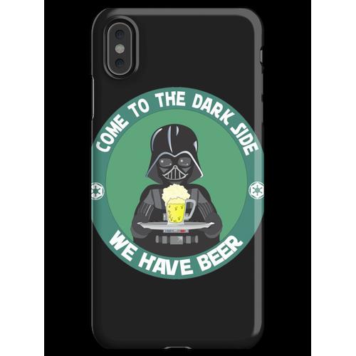 Dunkles Bier (wir haben Bier) iPhone XS Max Handyhülle