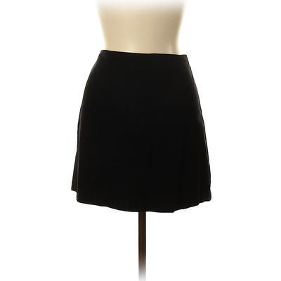 lilypod Casual Skirt: Black Soli...