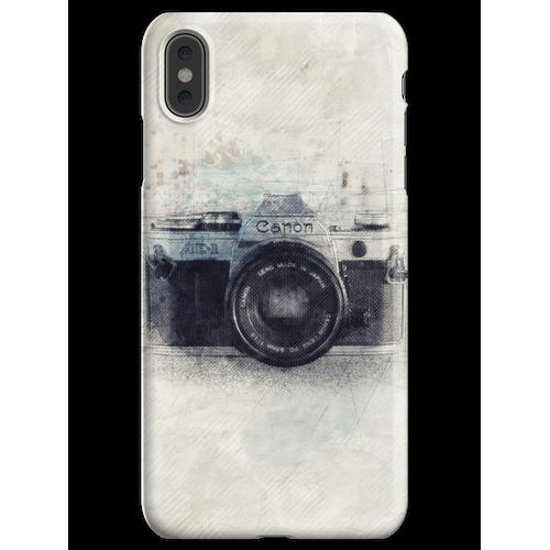 Canon Kunst, Canon Kamera, Canon Dekor, Kamera, Vintage Canon, Kamera Artwo iPhone XS Max Handyhülle