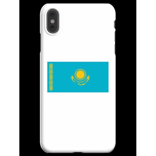 Kasachstan. Kasachstan Flagge. iPhone XS Max Handyhülle