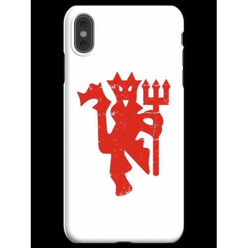 Diable Rouge Straße getragen iPhone XS Max Handyhülle