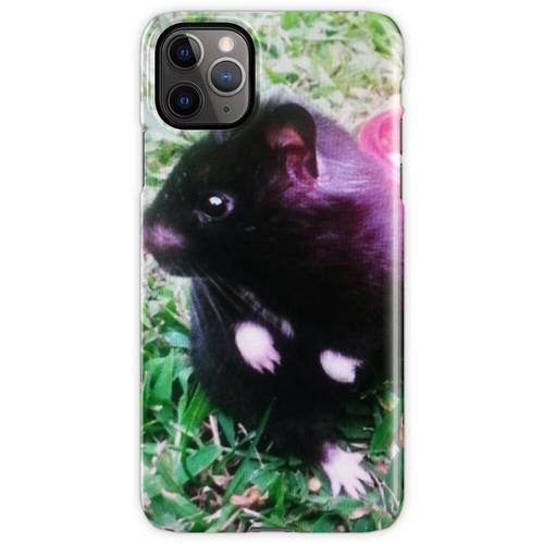 Chomik der Schwarzbär Hamster iPhone 11 Pro Max Handyhülle