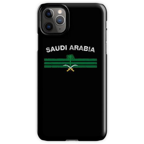 Saudisches oder saudiarabisches Flaggen-Hemd - Saudi-oder Saudi-arabisc iPhone 11 Pro Max Handyhülle