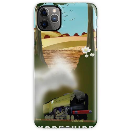 Yorkshire-Eisenbahnplakat iPhone 11 Pro Max Handyhülle