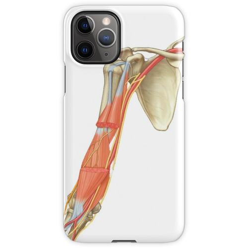 Schulterblatt und Arm iPhone 11 Pro Handyhülle
