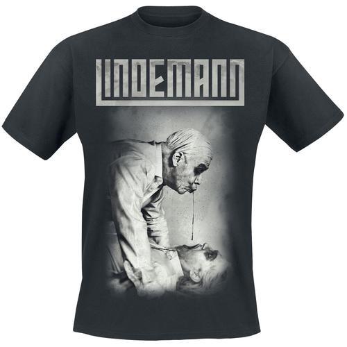Lindemann Bruderkuss Herren-T-Shirt - schwarz - Offizielles Merchandise