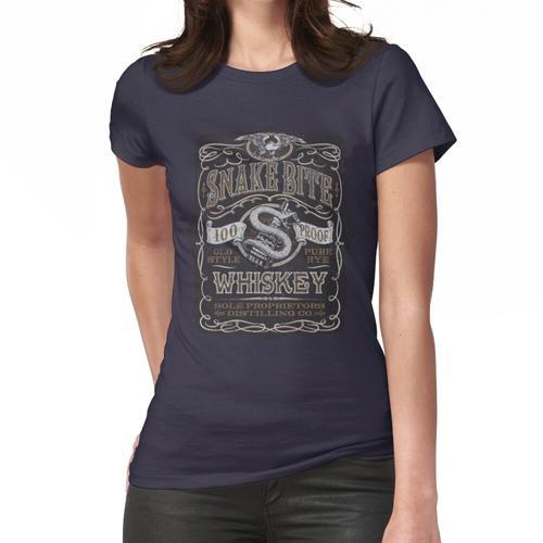 Snakebite Whisky Frauen T-Shirt