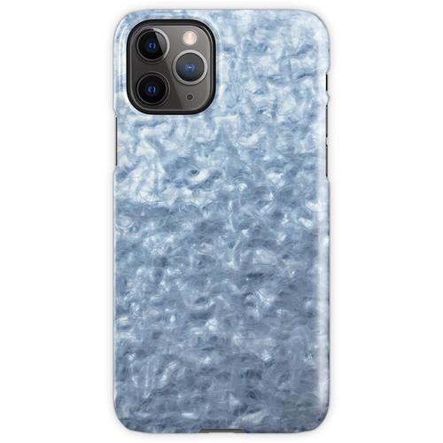 Eisige Textur. Wärmeisoliermaterial. iPhone 11 Pro Handyhülle