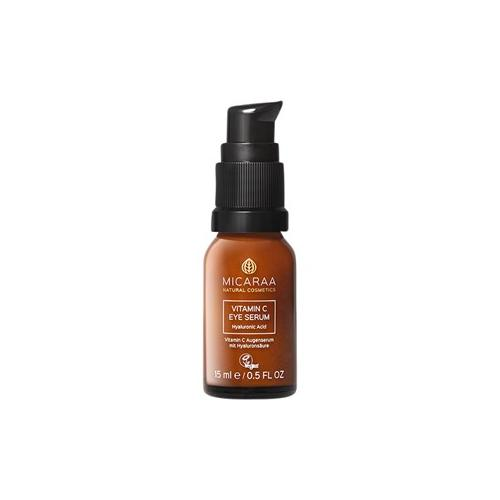 MICARAA Naturkosmetik Pflege Gesichtspflege Vitamin C Eye Serum 15 ml