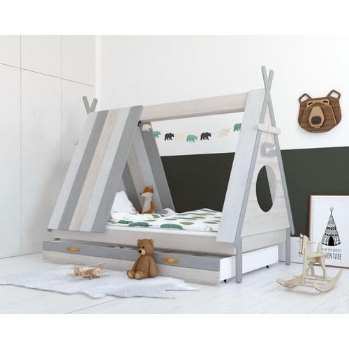 BLN Kids Sioux Kinderbett Sioux Kinderbett / 90x200 cm / mehrfarbig