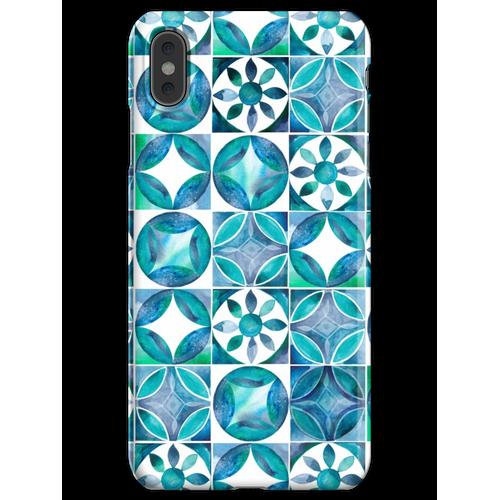 Mediterrane Fliesen iPhone XS Max Handyhülle