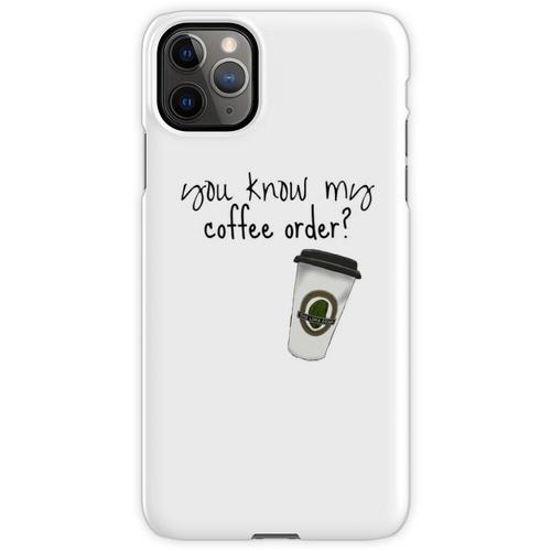 Grande fettfreier Mokka iPhone 11 Pro Max Handyhülle