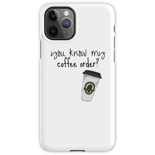 Grande fettfreier Mokka iPhone 11 Pro Handyhülle
