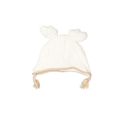 Winter Hat: Ivory Solid Accessor...