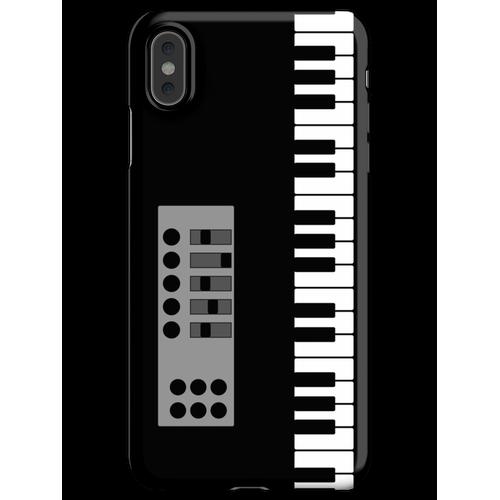 Keyboard Klavier iPhone XS Max Handyhülle
