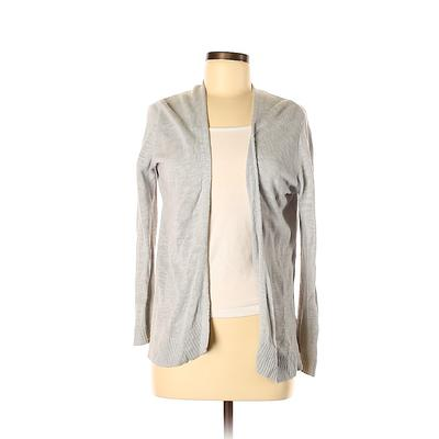 Gap Outlet Cardigan Sweater: Gray Solid Sweaters & Sweatshirts – Size Small