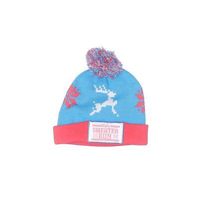 Winter Hat: Blue Graphic Accessories