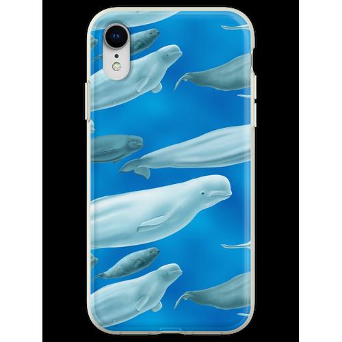 Beluga Beluga Beluga Flexible Hülle für iPhone XR