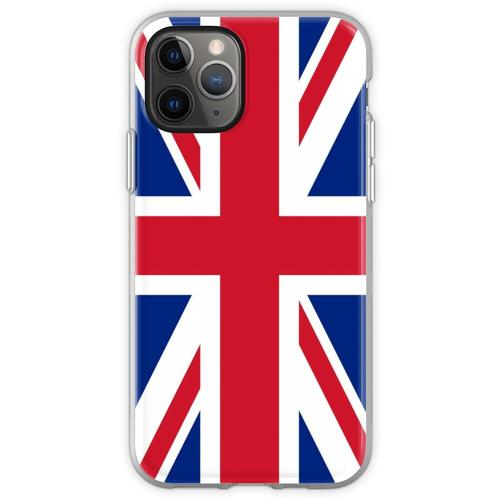 UK Union Jack Fahne Flagge Flexible Hülle für iPhone 11 Pro