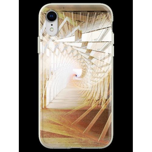 Den archimedischen Flur hinunter Flexible Hülle für iPhone XR