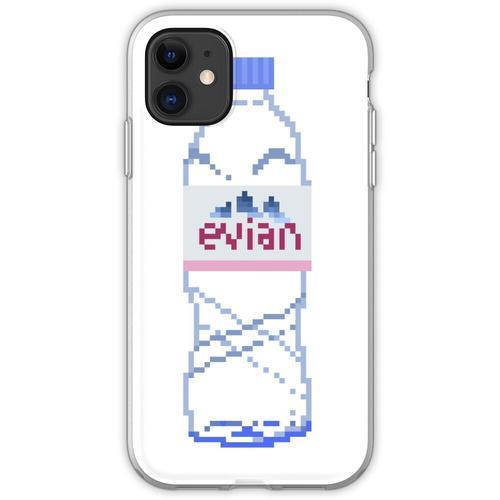 Evian Flasche Flexible Hülle für iPhone 11