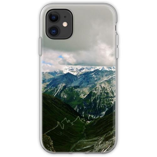 Stilfserjoch (Stilfser Joch, Stilfser Joch) Flexible Hülle für iPhone 11