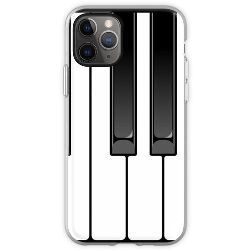 Klavier Oktave Flexible Hülle für iPhone 11 Pro