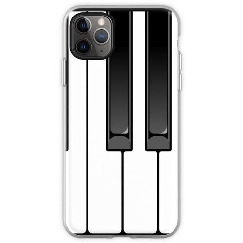 Klavier Oktave Flexible Hülle für iPhone 11 Pro Max