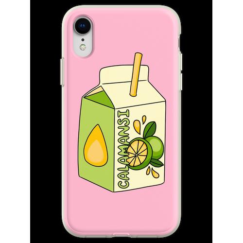 Calamansi Fruchtsaft Box Flexible Hülle für iPhone XR