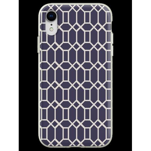 Achteckige Fliesen (Muster bitte) Flexible Hülle für iPhone XR
