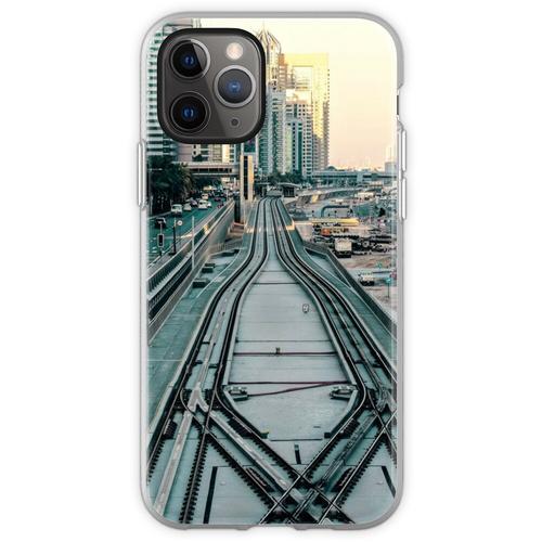 Eisenbahntag Flexible Hülle für iPhone 11 Pro