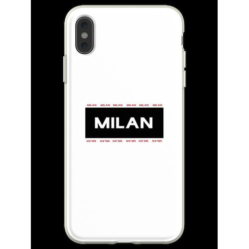Mailand Mailand Mailand Flexible Hülle für iPhone XS Max