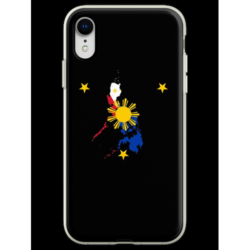 Philippinische philippinische Flagge Bestes philippinisches amerikanisc Flexible Hülle für iPhone XR
