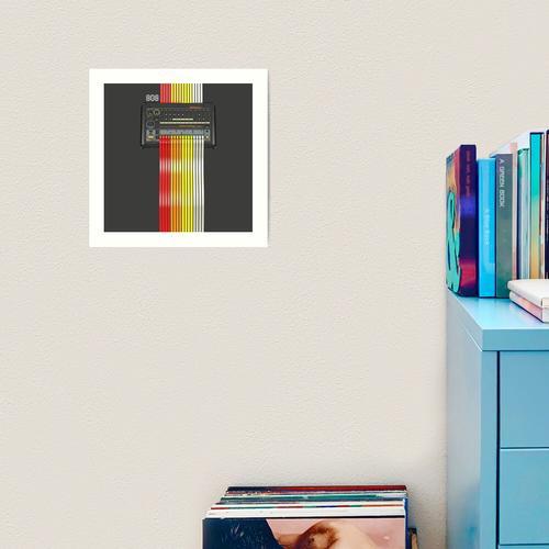 Roland TR-808 Kunstdruck
