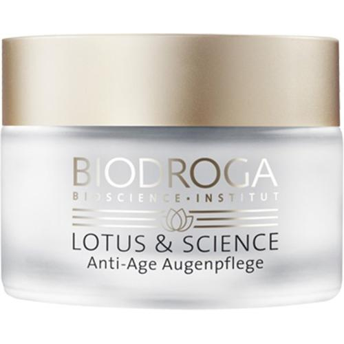 Biodroga Lotus & Science Anti-Age Augenpflege 15 ml Augencreme