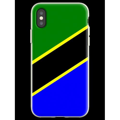Tansania - Flagge von Tansania Flexible Hülle für iPhone XS