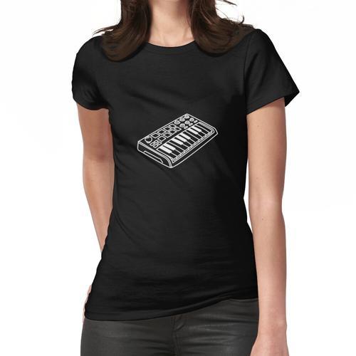 Midi-Keyboard Frauen T-Shirt