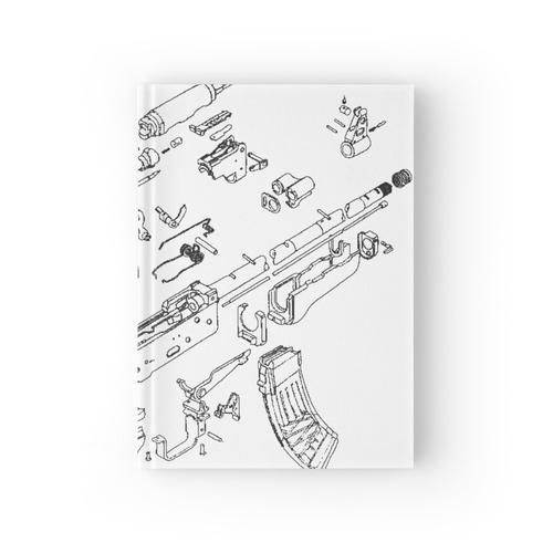 AK Explosionszeichnung Notizbuch