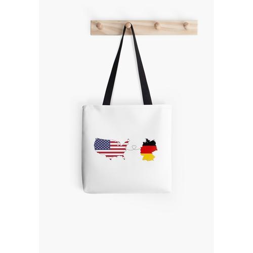 USA - Deutschland | Fernliebe Tasche