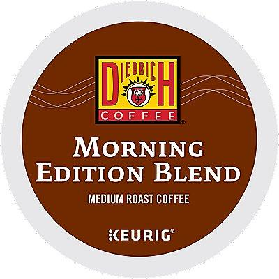 24 Ct Diedrich Morning Edition Blend Coffee K-Cup® Pods. Coffee