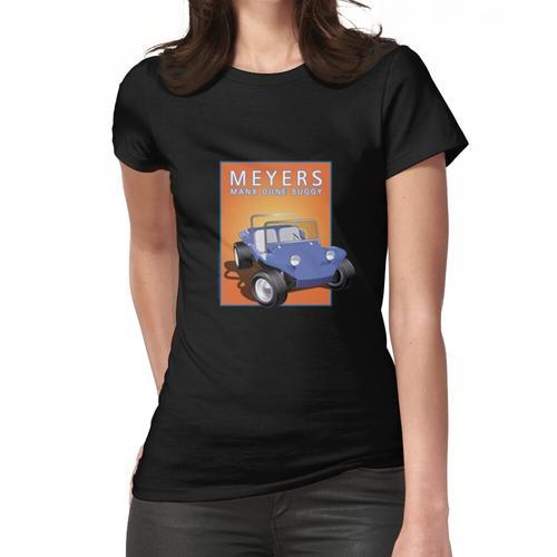 Dune Buggy Blue Manx Orange Box Frauen T-Shirt