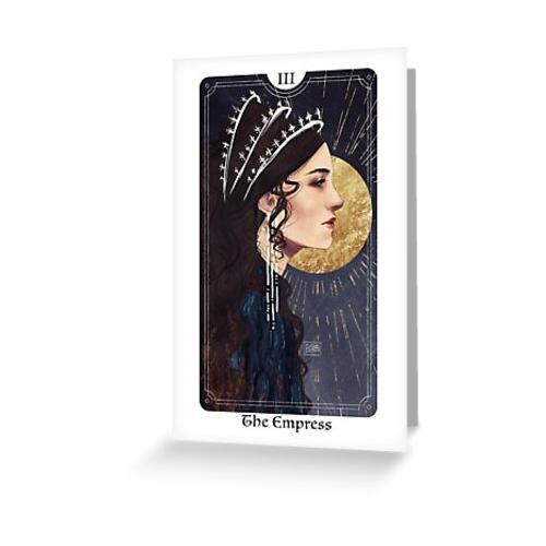 Das Tarot der Kaiserin Grußkarte & Postkarte
