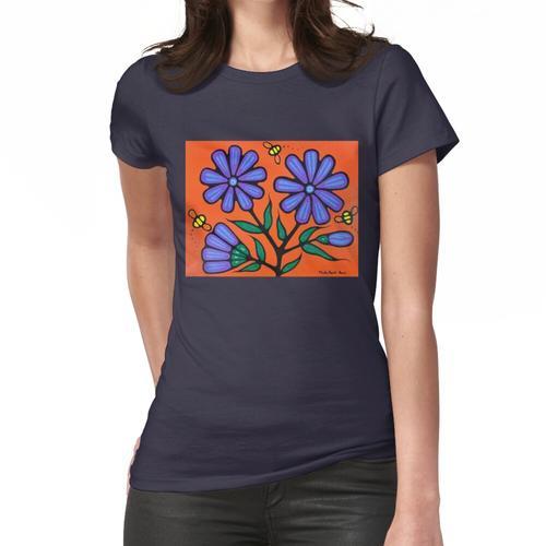 Bienen und Chicorée Frauen T-Shirt