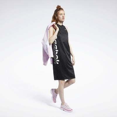 Reebok Women's Meet You There Basketball Dress in Black Size S - Training Apparel