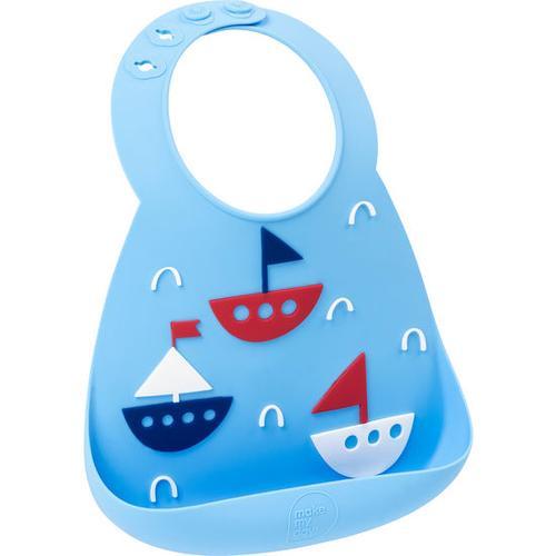 JAKO-O Make my day® Silikon-Babylätzchen, blau