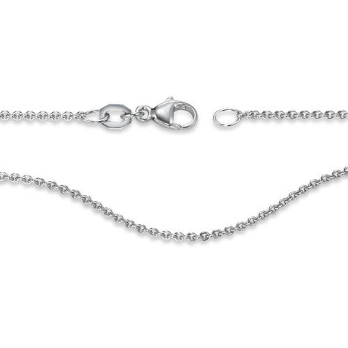 Halskette 750/18 K Weissgold 42 cm