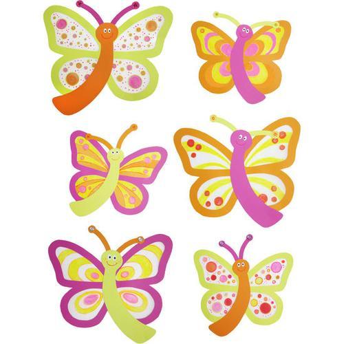 JAKO-O JAKO-O Fenster-Schmetterlinge, gelb